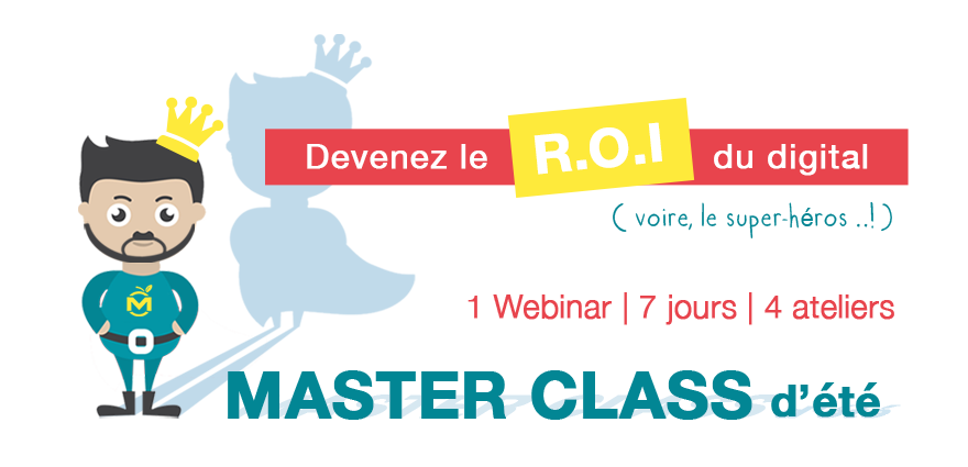 Master Class Formation Webmarketing