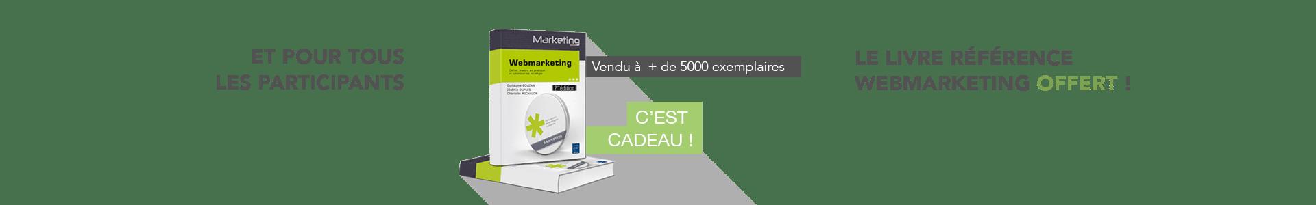 livre webmarketing cadeau