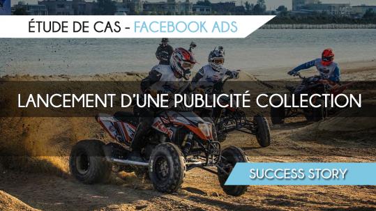 Publicité Facebook Collection