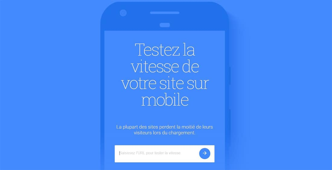 Test my site de Google, nouvelle version