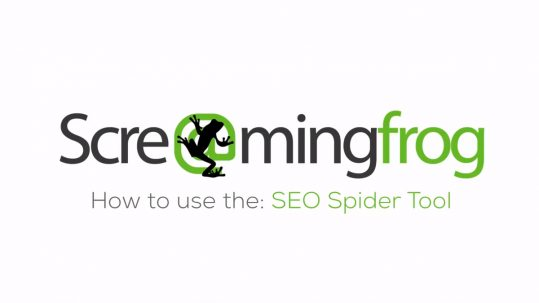 screaming frog spider tool 8