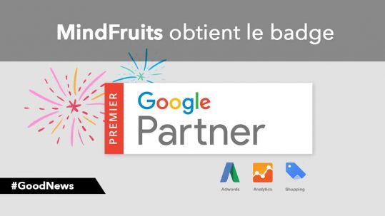 MindFruits agence Google Partner Premier