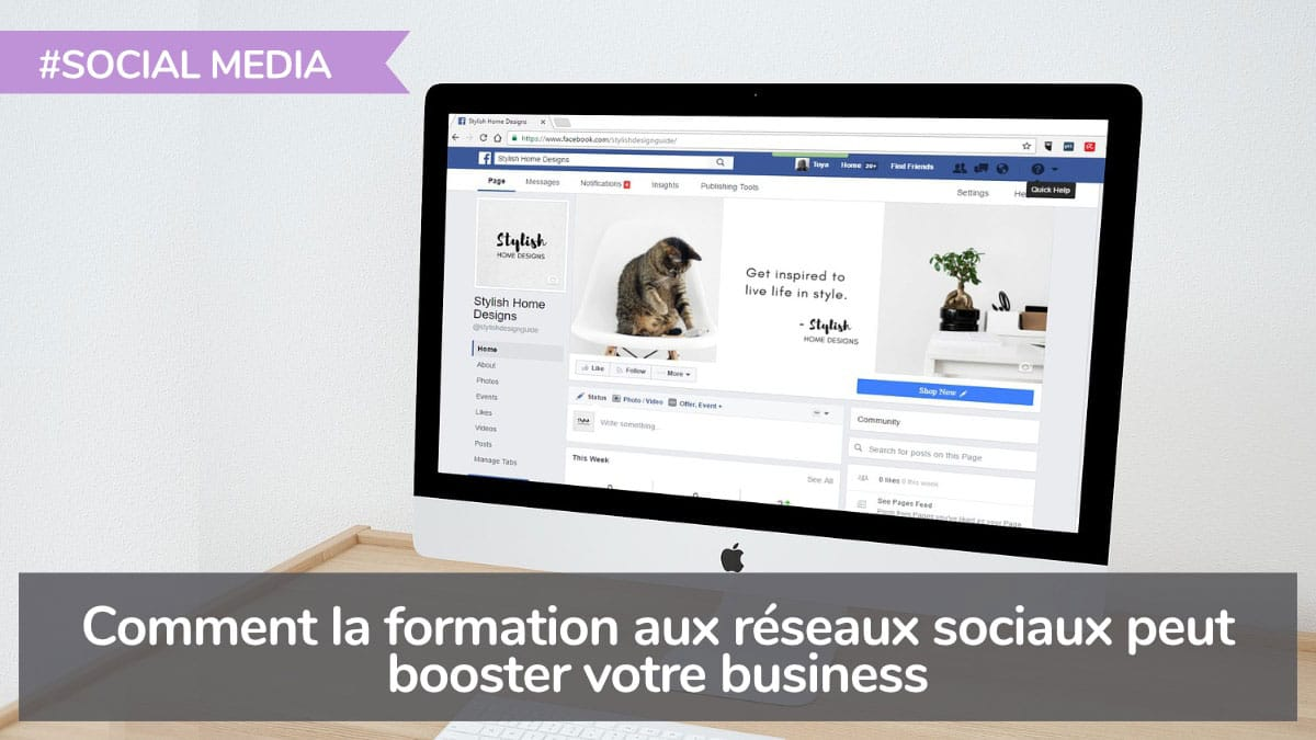 Formation Social Media booste le business