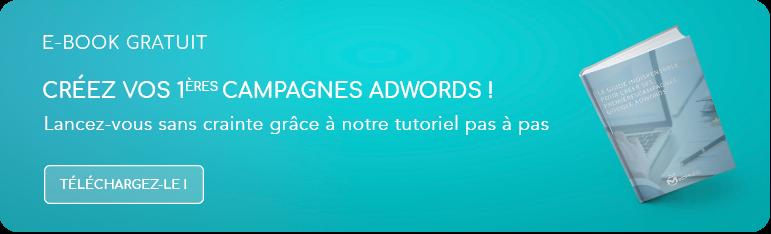 GRATUIT : notre guide pour démarrer ses campagnes Adwords !