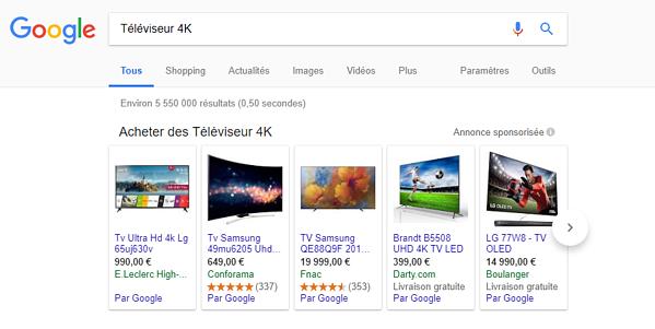 Qu'est ce que Google Shopping ?