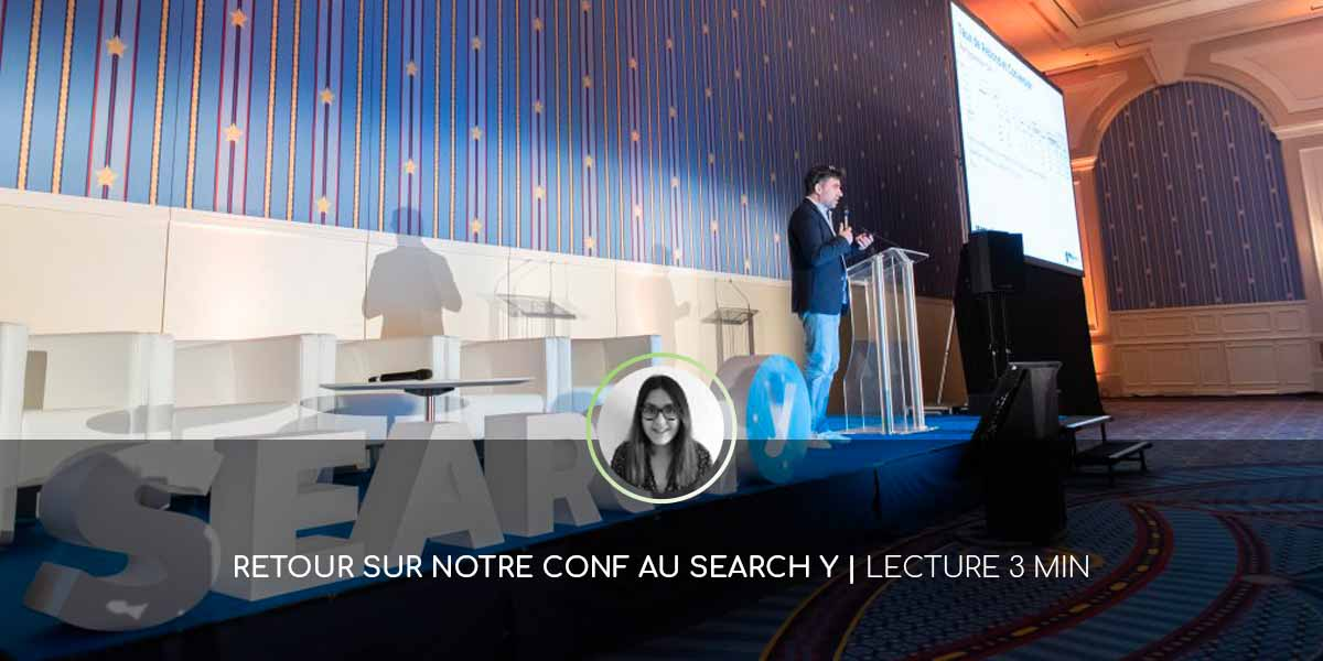 Guillaume Eouzan au Search Y de Paris