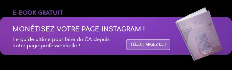 Monétisez votre page instagram !