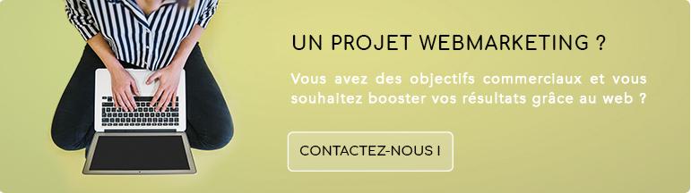 Contactez notre agence pour votre projet webmarketing